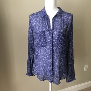 Cloth & Stone Light Weight Floral Button Down